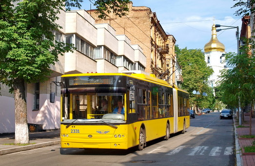 Поставщики троллейбусов для Киева станут известны 21 января