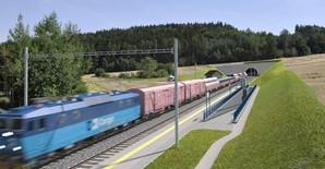В Чехии начали строить новый железнодорожный тоннель
