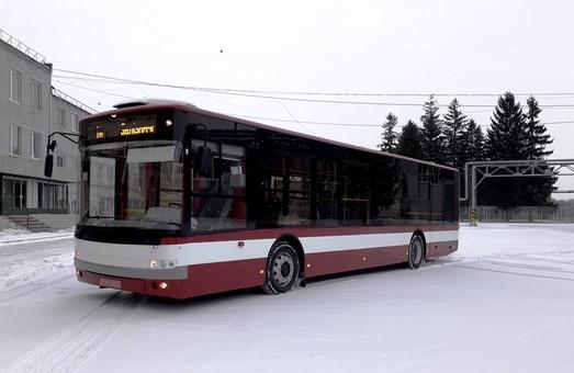 Ивано-Франковск получил первую партию новых автобусов «Богдан»