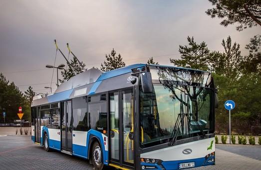 Польские троллейбусы «Solaris» появятся во Франции