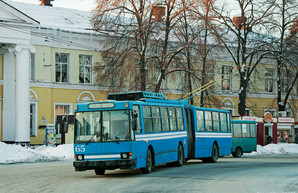 В Полтаве отказываются от троллейбусов-«гармошек»