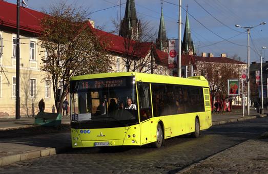 Проезд в автобусах Львова подорожает в феврале