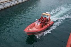 Украинские морские спасатели испытали новый скоростной катер
