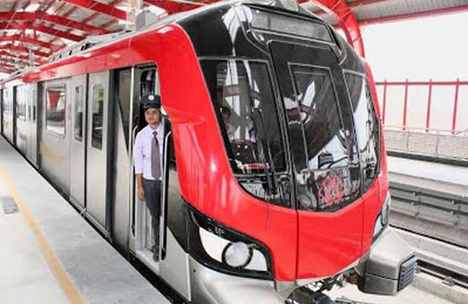 В индийском городе Лакхнау поезда метрополитена движутся почти без участия машинистов