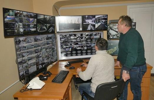 В порту Измаила установили новую систему видеонаблюдения