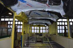 В Житомире восстановили еще один троллейбус ЗиУ-682В