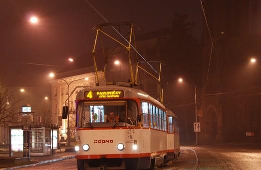 Чешский Либерец купил «бэушные» трамваи в Оломоуце