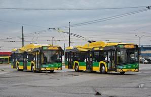В польском городе Тыхы начали работу новые троллейбусы «Solaris Trollino 12»