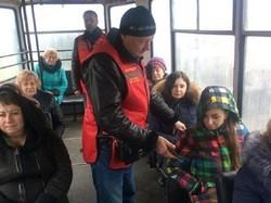 Контролеров в электротранспорте Днепра одели в красные жилеты