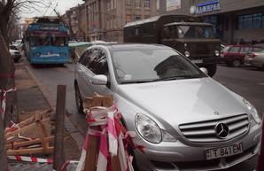 Мрачное настоящее и светлое будущее одесских парковок