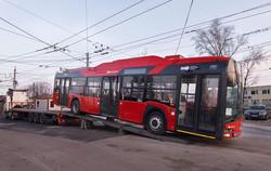 В Будапешт прибыл первый троллейбус «Solaris Trollino 12 IV Škoda» (ФОТО)