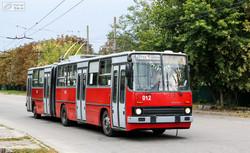 Троллейбусы-«гармошки» в Украине