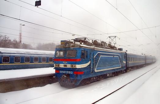 На железной дороге задержались несколько поездов, следовавших в Одессу