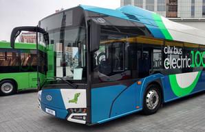Современный пассажирский транспорт покажут в Киеве в конце марта
