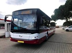 Мэр Ивано-Франковска показал, как будут выглядеть турецкие автобусы для города