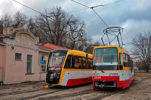Главной проблемой одесского трамвая назвали состояние рельсов