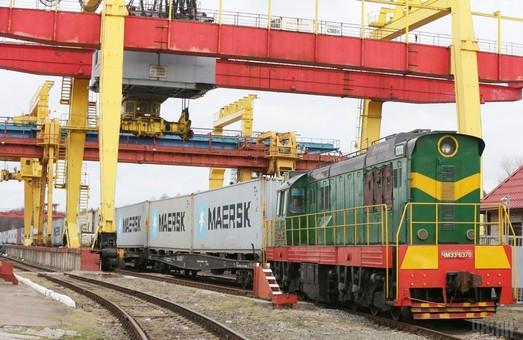 Контейнерный поезд из Черноморска в Киев подтвердил свою эффективность