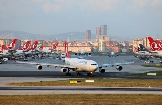 Крупнейшая турецкая авиакомпания перевезла в шесть раз больше пассажиров, чем все украинские