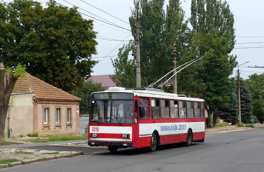 В Николаеве на конечной остановке троллейбусных маршрутов построят диспетчерский пункт