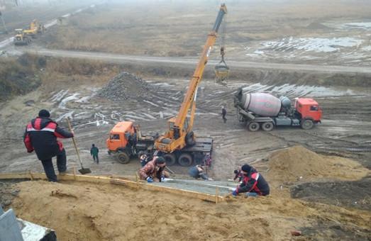 На объездной трассе вокруг Рени в Одесской области заканчивают строительные работы