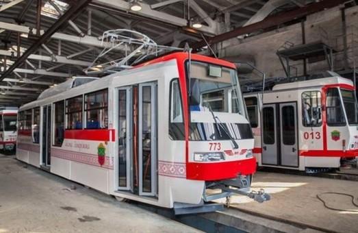В Запорожье на линию вышли еще три трамвая