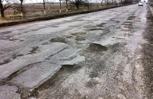 Ремонт автодорог в Раздельнянском районе Одесской области – один из приоритетов