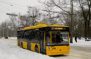 Все четыре троллейбуса «Богдан» уже работают на троллейбусных маршрутах Херсона