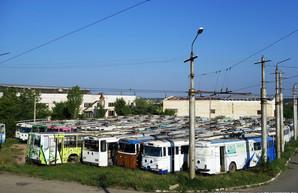 В оккупированном Крыму вывели из эксплуатации почти все троллейбусы «Skoda»