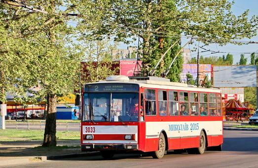 В Николаеве можно следить за движением трамваев и троллейбусов он-лайн