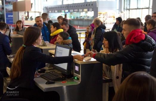 Аэропорты Киева, Львова и Харькова наращивают пассажиропотоки