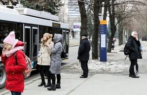 В Днепре изменяют дизайн остановок общественного транспорта
