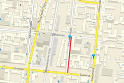 Улица Юрия Олеши в центре Одессы станет односторонней