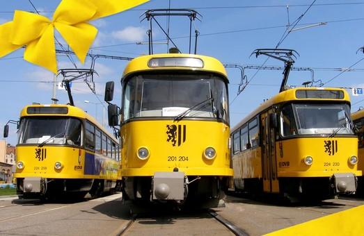 В Дрездене трамваи «Tatra» эксплуатируются уже 50 лет