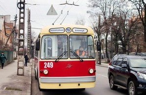 Сегодня в Виннице будет курсировать ретро-троллейбус
