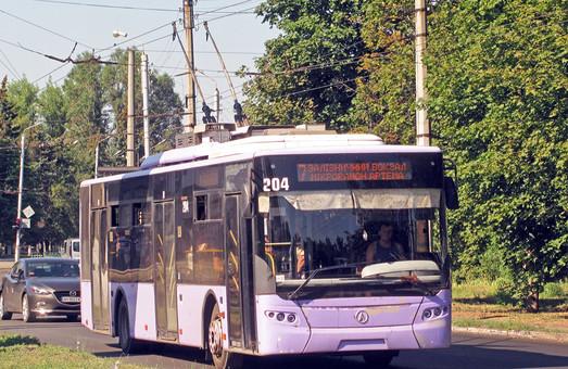 Славянск в этом году планирует купить три новых троллейбуса