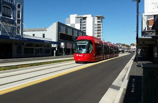 В австралийском городе Ньюкасле открылось движение трамвая