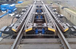 На станциях Одесской железной дороги ремонтируют оборудование сортировочных горок