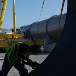 Во Франции достраивают тестовый участок «Hyperloop»