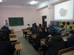 Украинский разработчик электробуса Виталий Брызгалов прочитал лекцию для студентов Кривого Рога