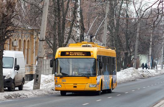 Черкассы в этом году планируют взять в лизинг десять троллейбусов