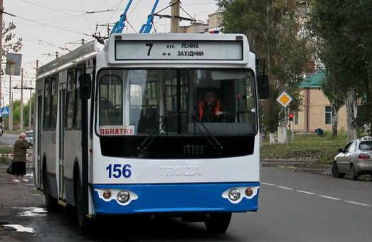 В Бахмуте выделили средства на покупку нового троллейбуса