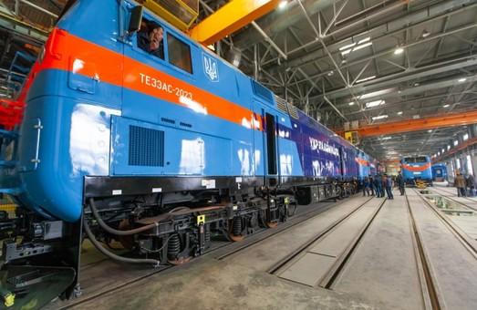 В «Укрзализныце» планируют получить все тепловозы «General Electric» до конца марта