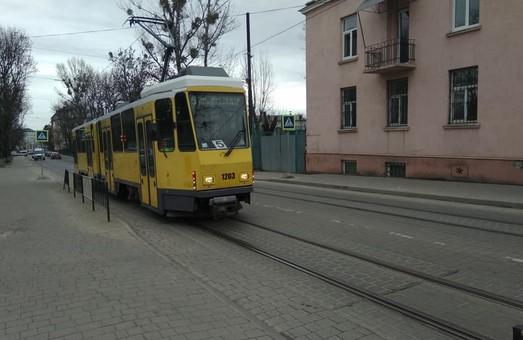 Во Львове запустили еще один трамвайный маршрут