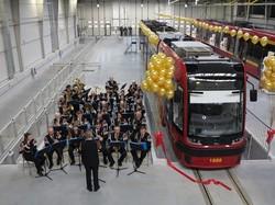 В трамвайном депо польского города Лодзь открыли новый профилакторий