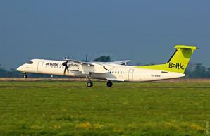 «airBaltic» снова будет летать из Одессы в Ригу