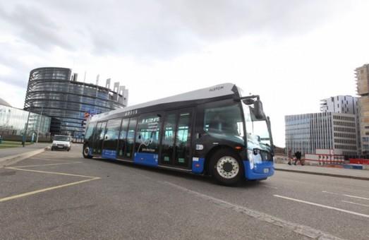 Страсбург покупает у «Alstom» дюжину электробусов «Aptis»