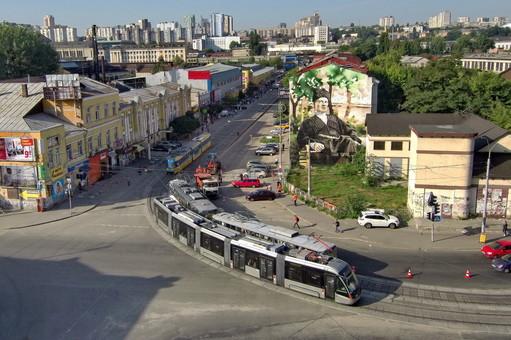 "Киев закупает 10 трамваев ""Электрон"""