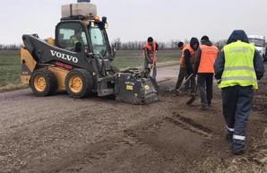 В Одесской области начался ремонт дороги от молдавской границы до Березовки (ФОТО)