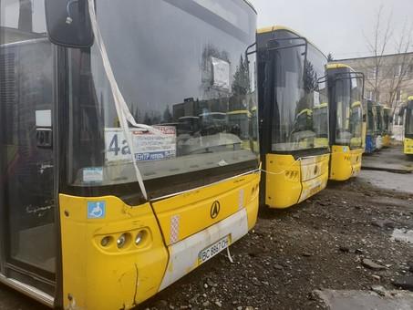 Местные власти Львова хотят продать почти новые автобусы