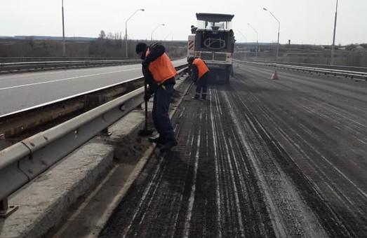 На трассе Одесса-Киев начался ремонт (ФОТО)